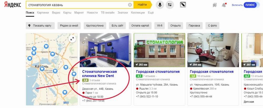 Влияние низкого рейтинга на Яндекс Картах на эффективность рекламы